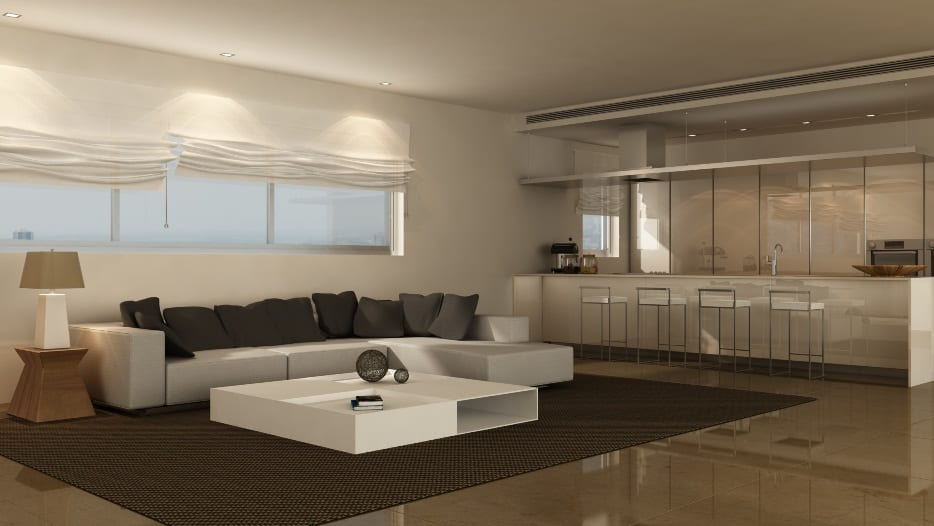 White Living room 2